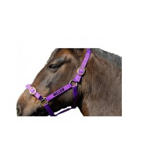 Personalised Embroidered Headcollar Shetland Size