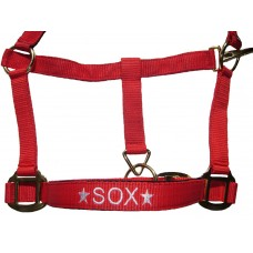 Personalised Embroidered Padded Headcollar Cob Size