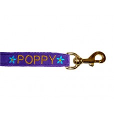 Personalised Embroidered Lead Rein