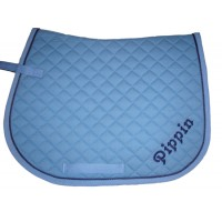 Personalised Embroidered Full Saddle Cloth