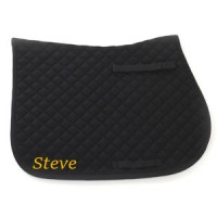 Personalised Embroidered Showjump Saddle Cloth Full Size